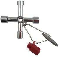 5 In 1 Cross Switch Key Wrench With Accessories Universal Sq...