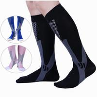 Calcetines de compresión para hombres Mujeres Calcetines de atletismo para enfermeras Medico Graduado de enfermería Viajes Running Calcetines deportivos