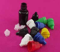 10ml plastic Dropper bottles Black Eye Drop Bottle Dark bott...