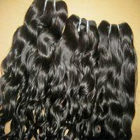 2021 Neues Jahr Hübsche Mädchen Schöne 9A Queen Hair Brasilianisches natürliches hüpfendes lockiges Haar Günstige Preise kann 3 teile / los 300g dicke Bündel gefärbt werden