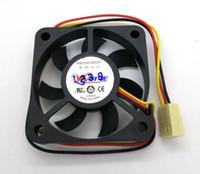 새로운 원래 vette A5010H12D 12V 0.14A 50 * 50 * 10mm 3 라인 컴퓨터 냉각 팬