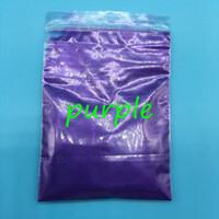 100g / sac En Gros Poudre De Perle Pigment Violet Couleur Mica poudre pour maek up, pigment nacré Pour PaintPrinting Cosmetic