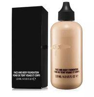HotSale Maquillaje Cara y Cuerpo Fundación Fond De Teint Visage et Corps 120ml DHL Envío Gratis A08