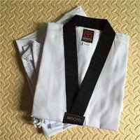 Nuovo design di alta qualità WTF Mooto Dobok Taekwondo reale foto bambino adulto MOOTO Taekwondo Taekwondo vestito uniformi vestiti Karate