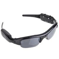 720 P Sunglass Exclusivo Digital Audio Video mini cámara DV DVR Gafas de sol camo Sport Grabadora de la videocámara Para Deportes Envío gratis