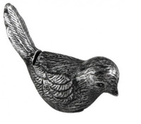 10pcs Antiqued Kuş Yeri Kart Sahibi Vintage Sevimli Kuş Fotoğraf Sahipleri Bebek Düğün Dekorasyon Şekeri