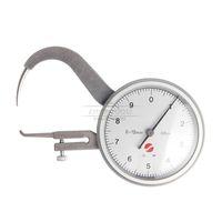 Freeshipping 0-10 мм 0.05 мм наберите толщиномер тестер циферблат Оснастки калибровочный суппорт измерительный инструмент