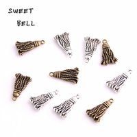 SWEET BELL 12*20mm Ally Jewelry Making Besom Fashion Necklac...