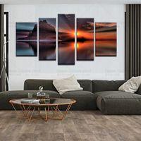 Wundervoll Leinwand Malerei 5 Stück Leinwand Kunst Seascape Malerei Für Wohnzimmer  Leinwand Artwork Wall Decor Modern