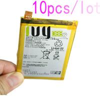 10 adet / grup 2900 mAh LIS1593ERPC Için Yedek Şarj Edilebilir Li-Polimer Pil Z5 E6653 E6683 E6603 E6883 E6633 Piller Batteria ...