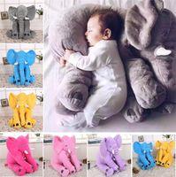 New Elephant Nose Plüschtiere Puppe weiches Plüsch-Spielzeug Stuff Babygeschenke weich Lendenkissen 40 * 33 cm 4636