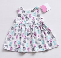 Baby Girl Dress White Corduroy Pattern Sleeveless O- Neck 1 Y...