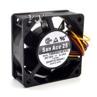 Originale nuovo ed originale 109R0614E403 6025 6CM 14V 0.34A doppio ventilatore a sfere per 60 * 60 * 25mm