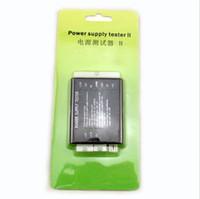 Testeur d'alimentation II Checker LED 20/24 broches pour PSU ATX SATA Testeur HDD Checker Compteur Mesure pour PC Compute Vente en gros