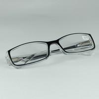 Heißer Verkauf Frühling Bein Lesebrille Transparenten Rahmen Presbyopie Brillen Lesebrille Rahmen Frauen Männer Weitsichtigkeit Gläser