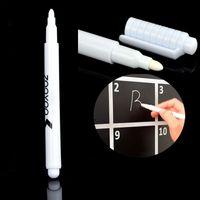 Белый жидкий мел стираемую ручку для доске доске доске детская стикер стены для детская комната съемный виниловые наклейки на стены ZA2554