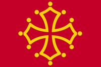 Франция регион окситанский крест флаг 3ft x 5ft полиэстер баннер летать 150* 90 см пользовательский флаг
