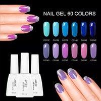 Professional Azure 60Pcs Shining Gel Nail Polish Soak- off UV...