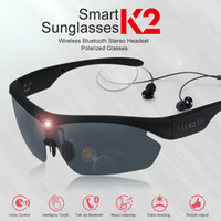 smart sunglasses Gonbes K2 Bluetooth Sunglasses for men wome...