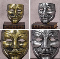 Retro Party Masks V for Vendetta Masks Anonymous Guy Fawkes ...