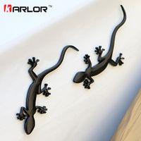 Gecko Lizard Quattero 3D Metal Ho Voiture Auto Moto Logo Emblème Badge Car Styling Autocollants Automobiles Car-Styling Accessoires