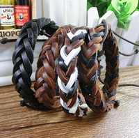 New arrival Fashion retro twist braided bracelet couple brac...