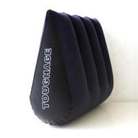 Hot Sex Pillow Inflables Sex Furniture Triangle Magic Wedge Almohada Cojín Productos Eróticos Juego Adulto Juguetes Sexuales para Parejas