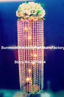 4 options) colonnes de mariage en cristal / mandap11 / piliers à vendre, colonne en cristal de décoration moderne