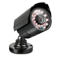 sicurezza a raggi infrarossi sistema di telecamere CCTV 1200TVL CMOS a colori 24 LED di visione notturna 20m IR CCTV Interni Esterni fotocamera impermeabile