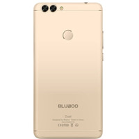 100% neue Bluboo Dual Smartphone 4g DualCard Handy 2 GBRAM 16 GB Real Fingerprint MTK6737 Quadcore 5,5 Zoll DualCamera Android Handy