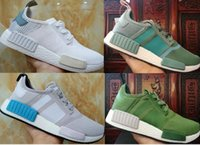 Newest fashion women mens olive green NMD R1 W ULTRA BOOST U...