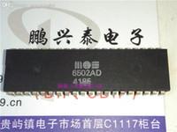 6502AD, MOS6502AD, MOS Microprocessor Old CPU, 6502 Vintage żetony procesorowe. Części elektroniczne. Pakiet plastikowy PDIP-40 pin. ICS.