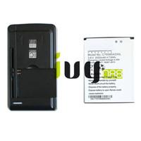 2000mAh C765804200L استبدال البطارية + شاحن USB الجدار العالمي ل BLU الحياة 8 Life8 L280 L280a فوز HD W510 W510U