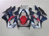 Juego de carenado 100% de inyección barato para Honda CBR900RR 00 01 azul rojo blanco carenados conjunto CBR929RR 2000 2001 OT06