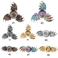 Colorful Dragon' s eye Fidget Spinner Metal Rainbow Drag...