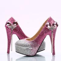 Kaufen Sie Im Grosshandel Rosa High Heels Fur Prom 2019 Zum Verkauf