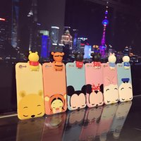 For iPhone 7 7 Plus Cute 3D Cartoon phone Cases For iphone 6...