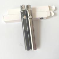가변 전압에 대 한 OEM L0 예열 배터리 펜 vape 전자 담배 배터리 사전 열 기능 350mah 용량 DHL 무료 배송