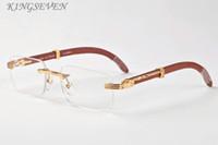 gafas de sol de madera de bambú para hombres mujeres 2020 gafas de sol sin montura cuadrada una variedad de lentes de color y marcos retro gafas de sol de madera
