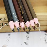 3 stks Waterdichte Wenkbrauw Potlood Enhancer Make Oogschaduw Potlood Pen Permanente Oogvoering Brow Potloden Verf Make-up Cosmetische Tool