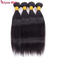 Meilleure vente Aubaines du jour Mink droit brésilien Vierge Cheveux Tissages humides et onduleux Remy Human Bundles cheveux Ponytail gros Extensions cheveux