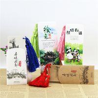 Glands, signets en papier créatif panda, souvenirs de voyage du Sichuan Chengdu, cadeaux de remise des diplômes, vent classique chinois inspirant