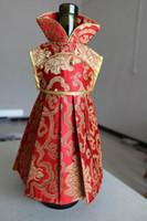 Vestido de seda de satén de seda Navidad botella cubierta bolsa de banquete de boda decoración de la mesa Botella de vino tinto bolsa de vestir fit 750 ml 10pcs / lot