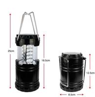 Nouveau Portable Ultra Lumineux Camping Lanterne Bivouac Randonnée Camping Lumière 30 LED Lampe Sports de Plein Air SC037