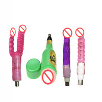 China Sex Machine Accessories with 4pcs Attachments Double d...