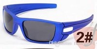 summer new fashion man blue sport sunglasses spectacles wome...