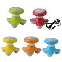 Mini USB Body Massager Back Head Scalp Neck Massager completo del cuerpo Hand Held Massager personal portátil