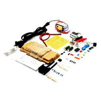 US Plug 110V DIY LM317 Kit de tension d'alimentation réglable avec boîtier pour distributeur d'étudiant