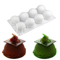 Baking Pastry Mould 8 Cavity Bakeware Silicone Kitchen Tools...