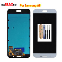 HD OLED AMOLED Display für Samsung Galaxy A8 A8000 A800 A800F LCD Display + Touchscreen Digitizer Montagewerkzeuge